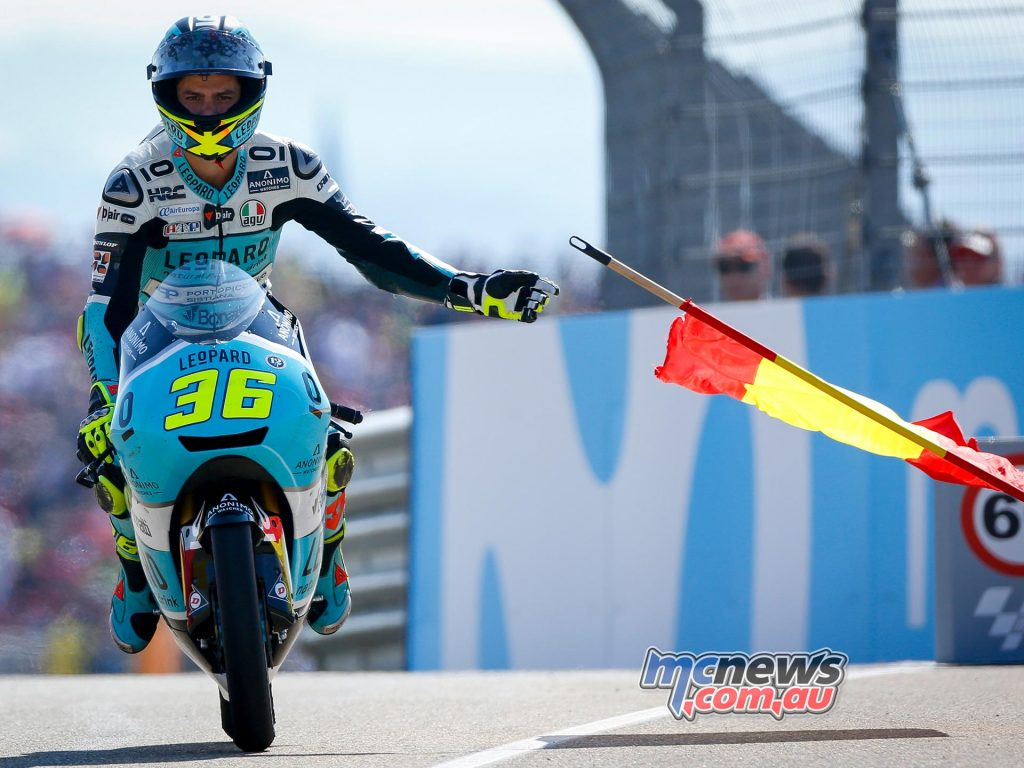 Joan Mir takes record-breaking eighth win in style