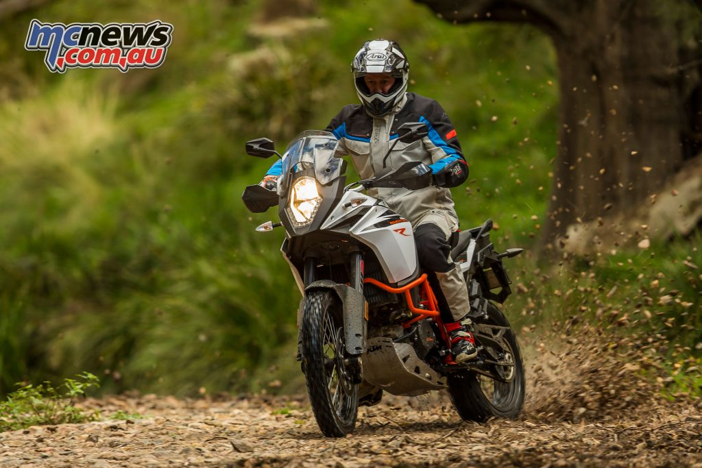 The 1090 Adventure R will no doubt be the more manageable choice for many riders however