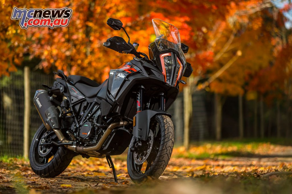 The 1290 Super Adventure S is the road orientated offering, with 160hp on offer and bucketfuls of torque