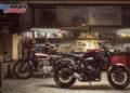 Yamaha XSR700 2018 - 'Brilliant Red'