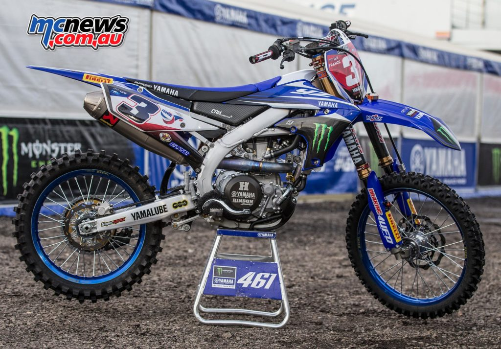 2018 Yamaha YZ450FM - Romain Febvre - Team France