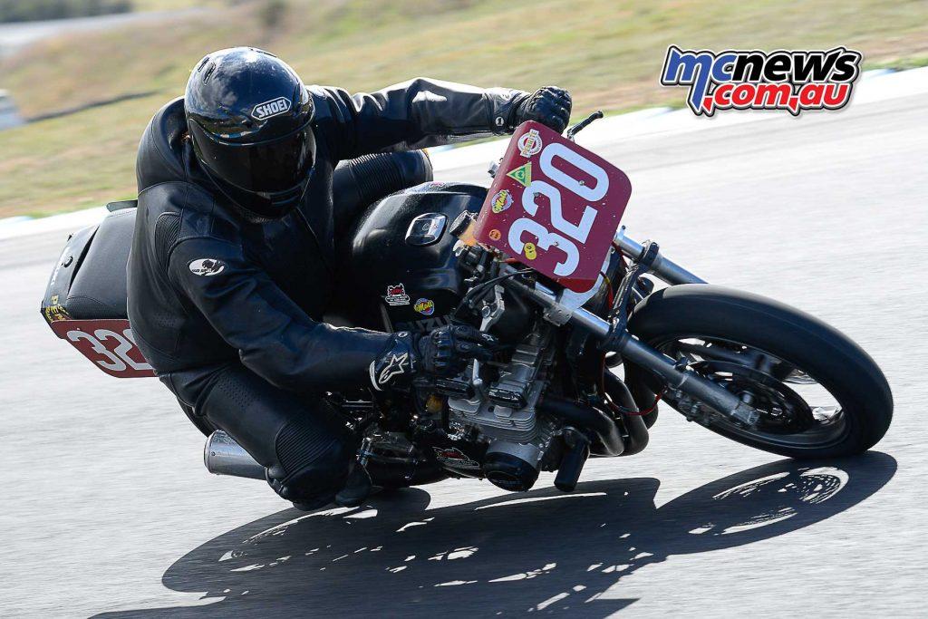 Tim Lester on his sweet Suzuki GSX1160