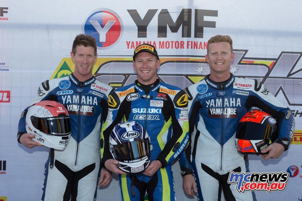 Yamaha Motor Insurance Superbike - Final Qualifying Results Josh Waters - Suzuki 1m30.197 Wayne Maxwell - Yamaha 1m30.458 Glenn Allerton - Yamaha 1m30.765