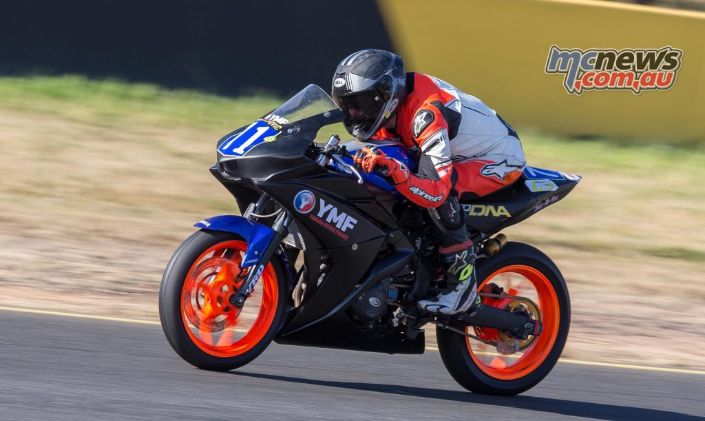 Tom Edward topped Supersport 300 and R3 Cup practice - Image by TBG