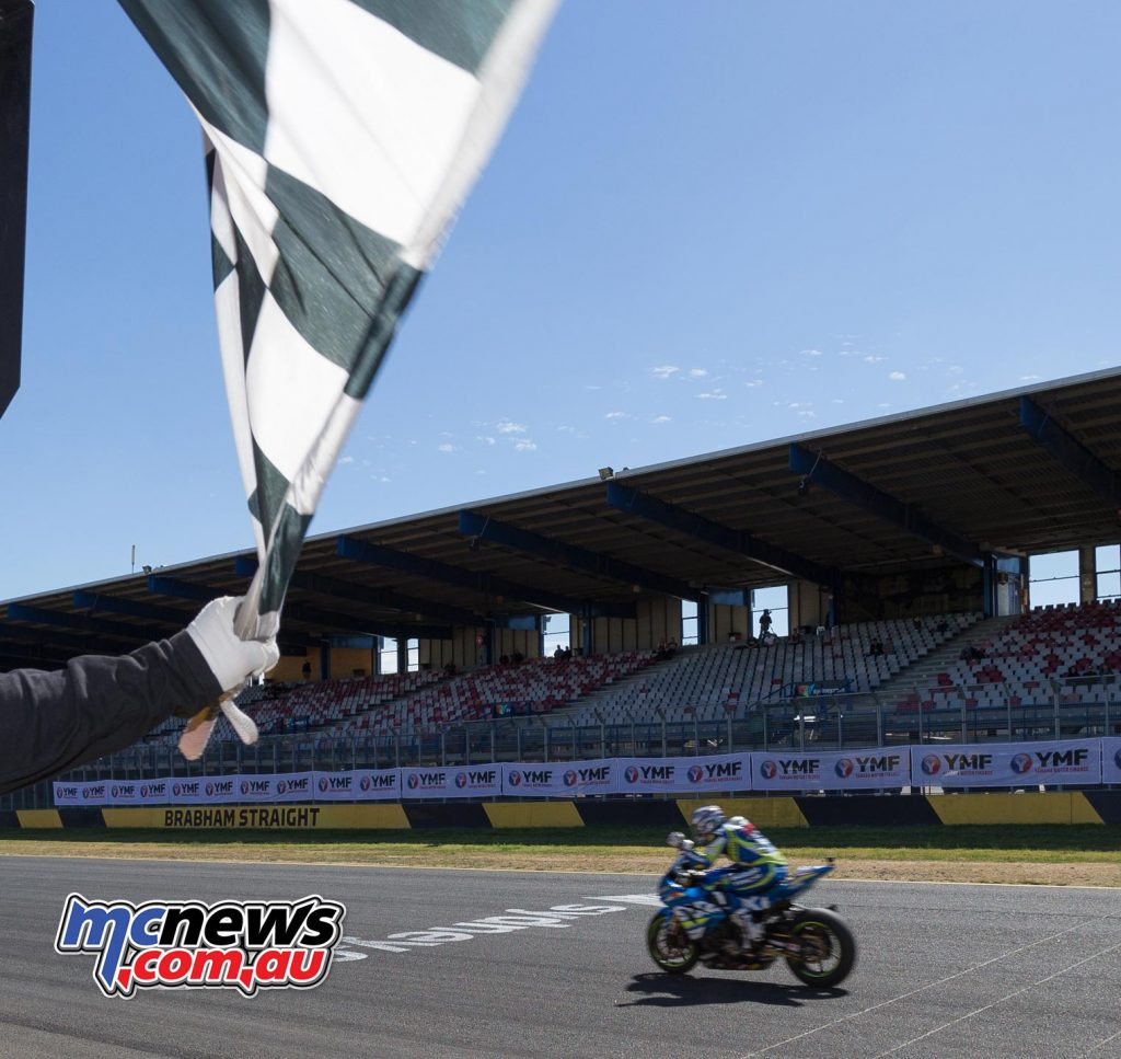 Josh Waters had took the chequered flag 2.6-seconds ahead of that battle, after backing it right off in the closing laps.  - Image by TBG