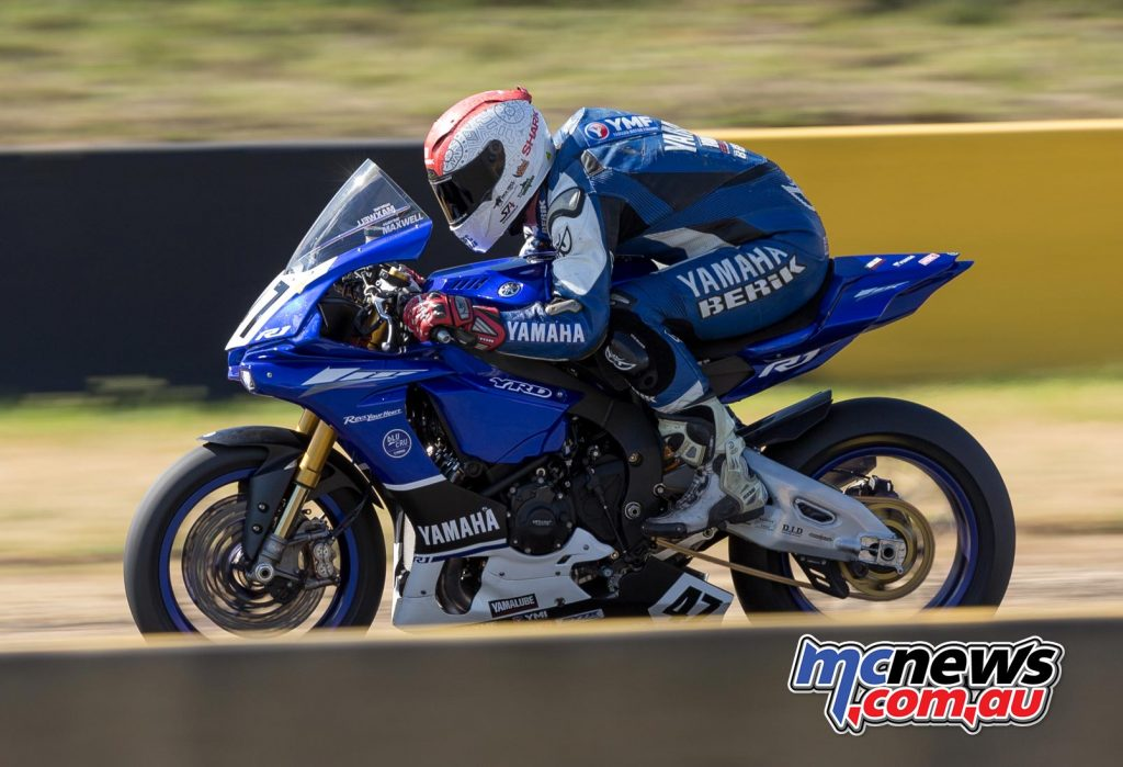 Wayne Maxwell topped Friday proceedings at Sydney Motorsport Park - Image by TBG