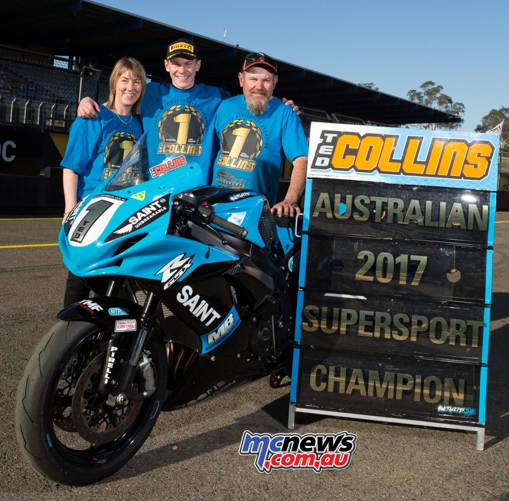 After wrapping up the Supersport Title in Sydney, NextGen Suzuki's Ted Collins will make his Superbike debut at Phillip Island - Image by TBG