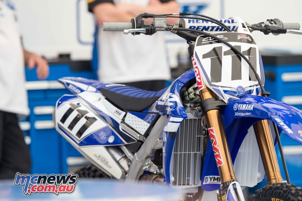 Dean Ferris proved strong off his MX Nationals win with second place at Round 1
