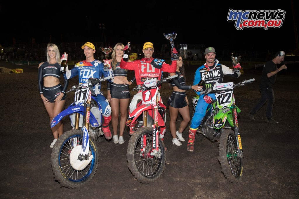 The SX1 Podium - Jimboomba Round 1