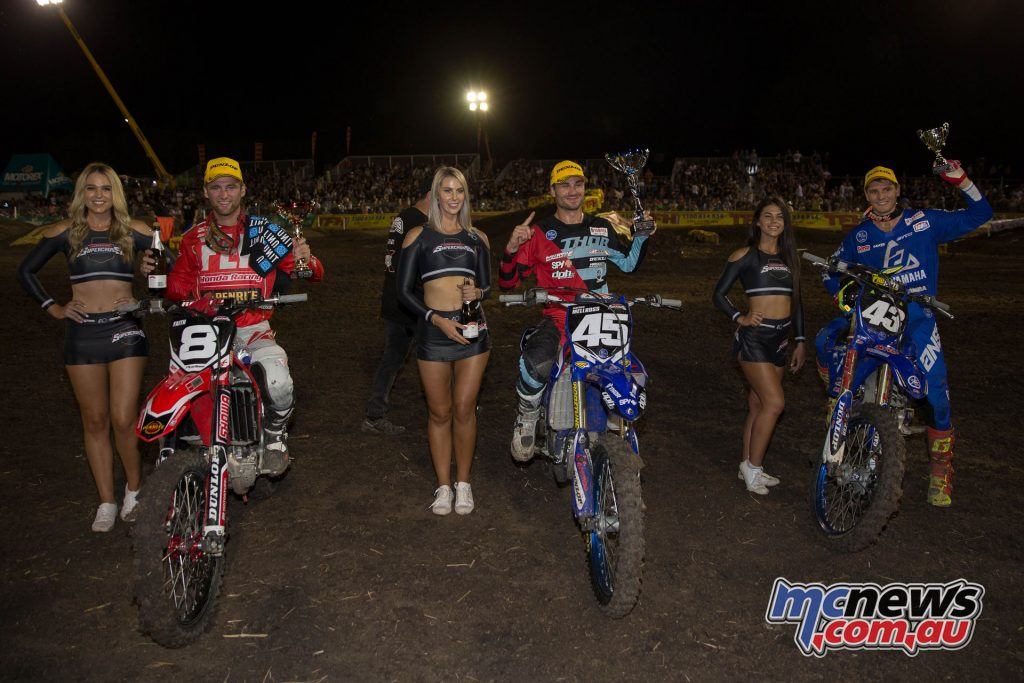 The SX2 Podium - Jimboomba Round 1