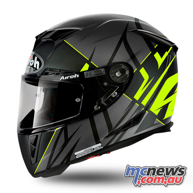 The Airoh GP500 is a high performance lid, designed for the track but also suitable for road use and only weighing 1200g