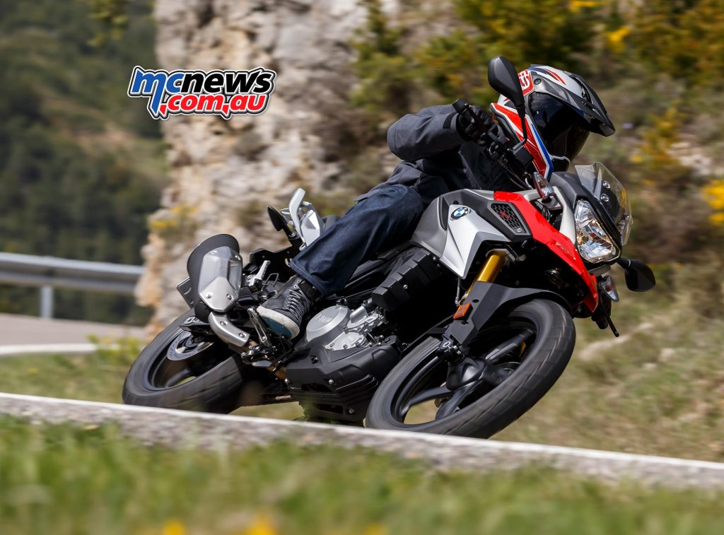 The G 310 GS is designed for nimble on road performance with strong off-road qualities