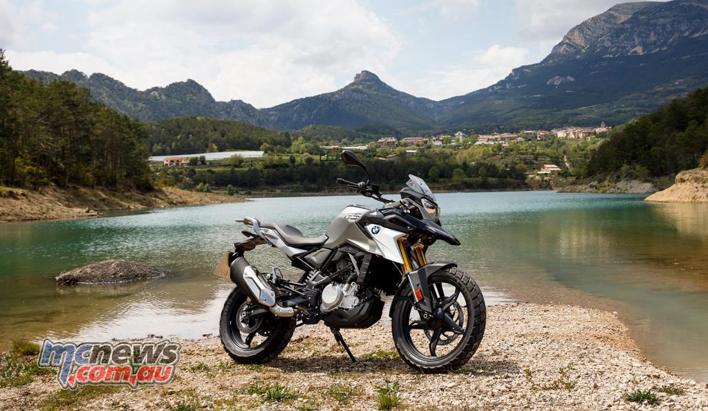 The BMW G 310 GS - the ideal starting point for any rider, offering a strong mix of road and off road features in an easy to handle package