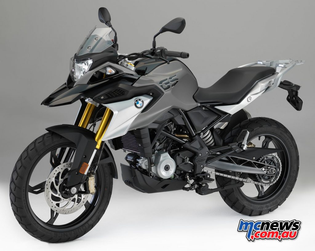 BMW G 310 GS in Cosmic Black non-metallic - The bike is produced in India to BMW's strict quality control criteria