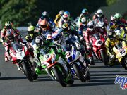 Haslam, Dixon and Brookes lead the BSB field away at Oulton Park