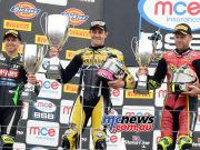 MCE Insurance British Superbike Championship, Silverstone, race two result Josh Brookes (Anvil Hire TAG Yamaha) James Ellison (McAMS Yamaha) +0.274s Shane Byrne (Be Wiser Ducati) +0.732s