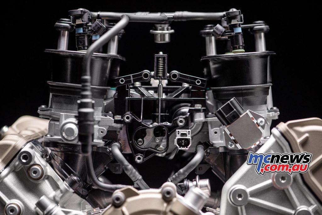 Ducati Desmosedici Stradale Engine | 1103cc V-4