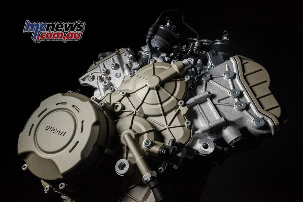Ducati Desmosedici Stradale Engine