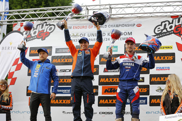 Enduro 2 Day 1 Podium