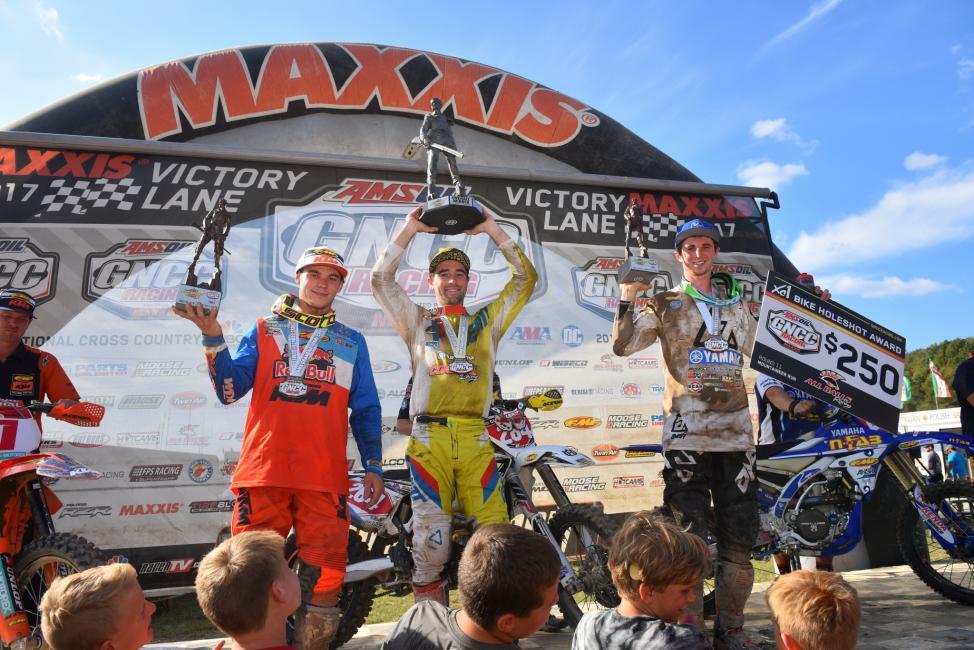 XC1 Overall podium