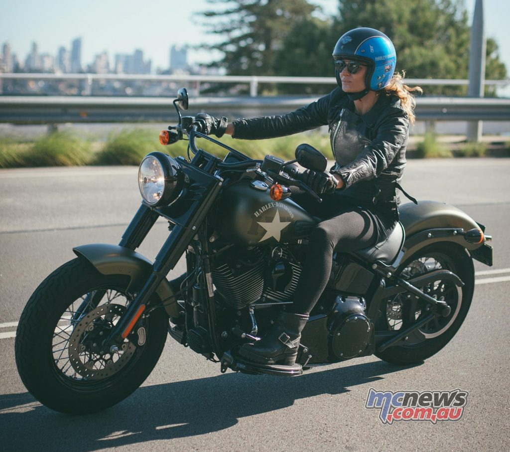 Harley-Davidson ambassador Danielle Cormack will ride into the festival to take part in activities throughout the weekend including the Thunder Run