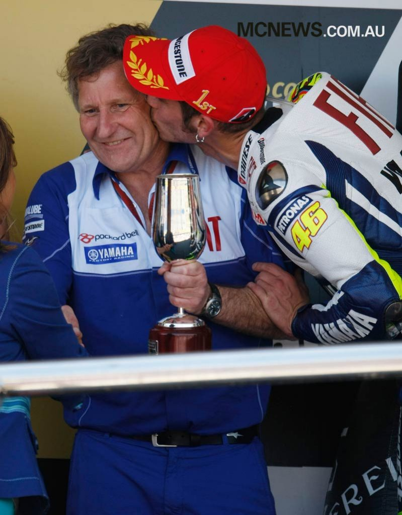 Valentino Rossi and Jeremy Burgess - 2009 - Image by AJRN