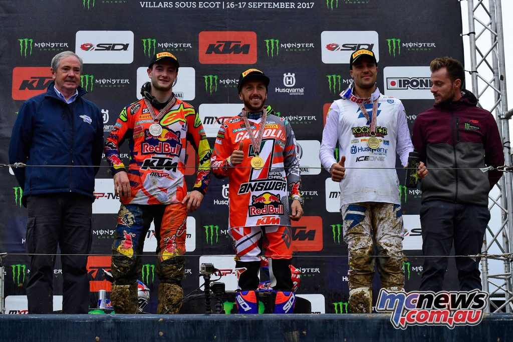 MXGP Top Three