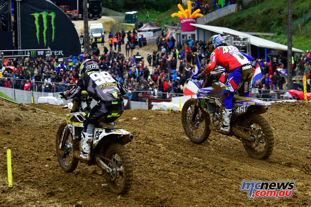 Max Anstie took the MXGP qualifying win