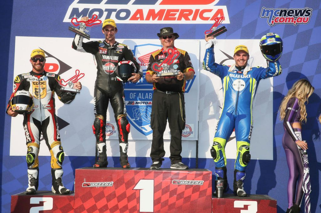 Superstock 1000 Race 1 Podium
