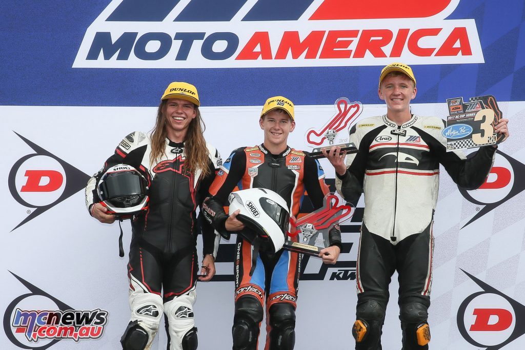 KTM RC Cup Race 1 Podium