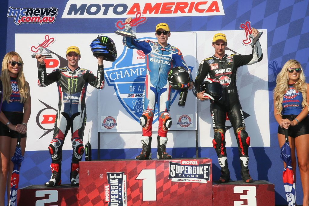 Hayden topped the R1 Superbike Podium