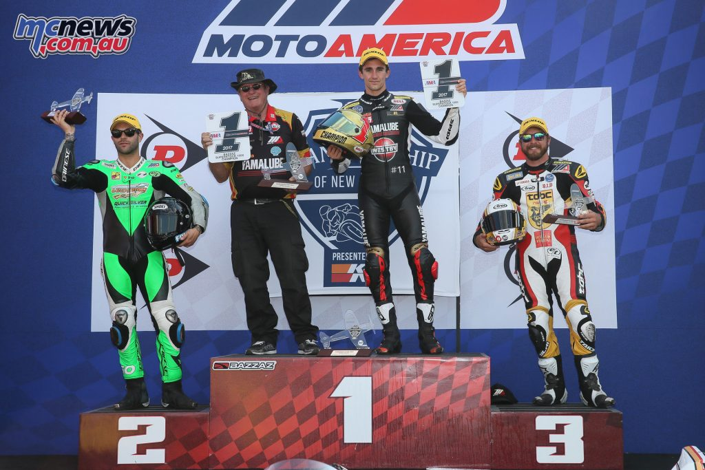 Bazzaz Superstock 1000 Podium Race 2