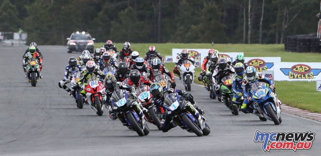 Gerloff leads the Supersport field in Race 2