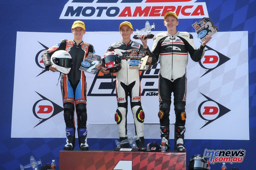 KTM RC Cup Race 2 Podium