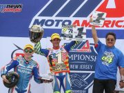 Toni Elias wins the MotoAmerica Superbike title