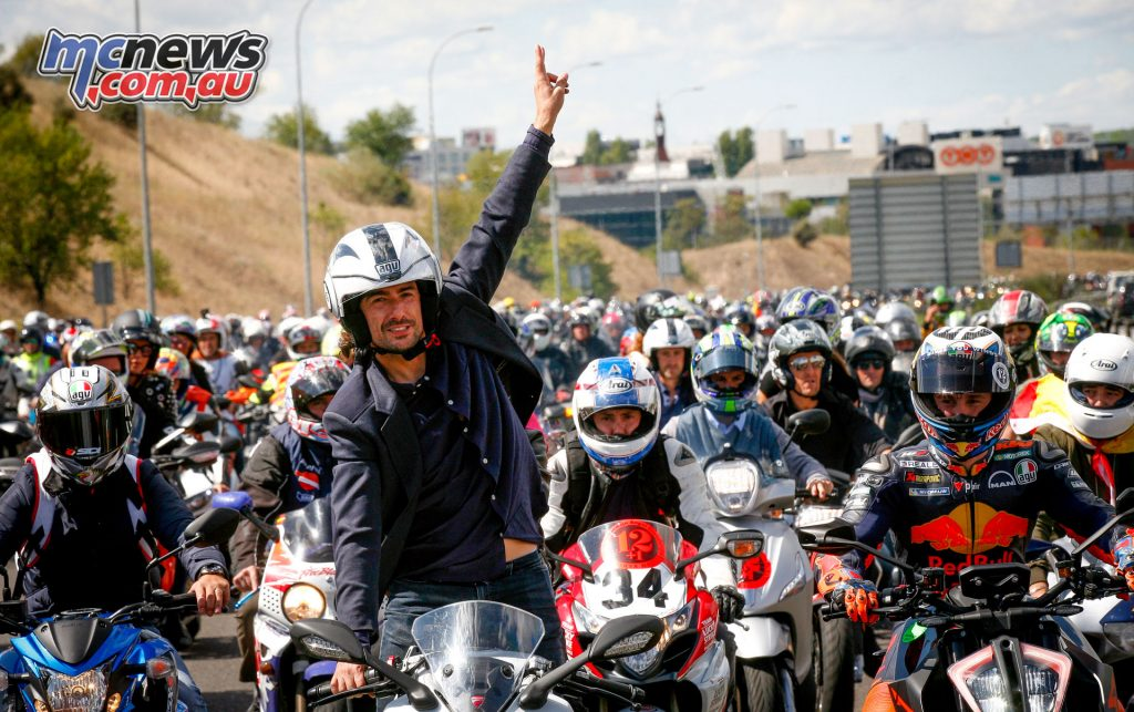 World Champion Angel Nieto tribute