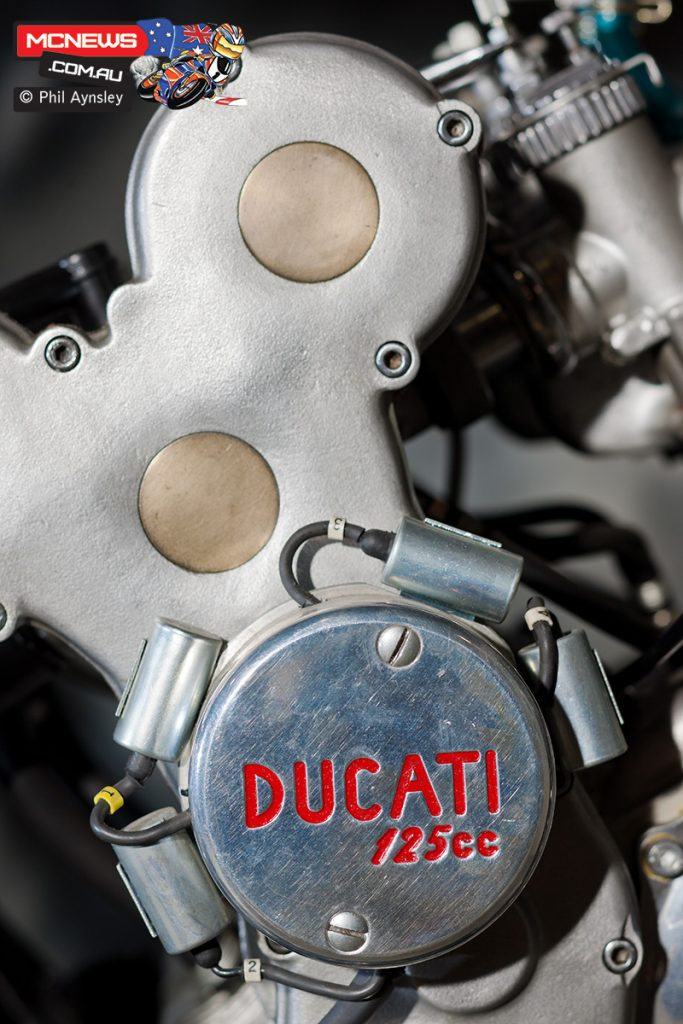 The Ducati 125/4 disappeared after failing to perform to expectations but would be later rebuilt