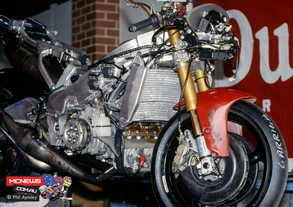 Juan Garriga's Yamaha YZR500