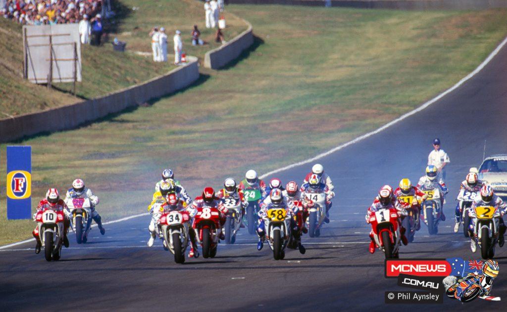Start of the 500cc race
