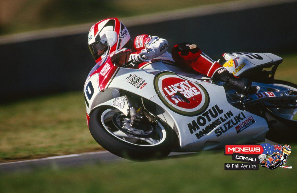 Doug Chandler / Suzuki RGV500