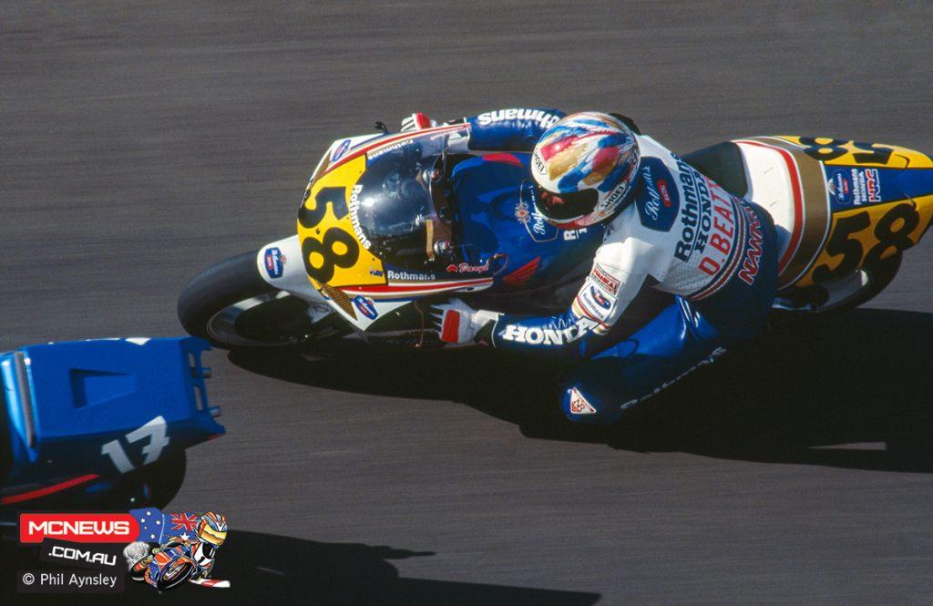 Daryl Beattie / Honda NSR500