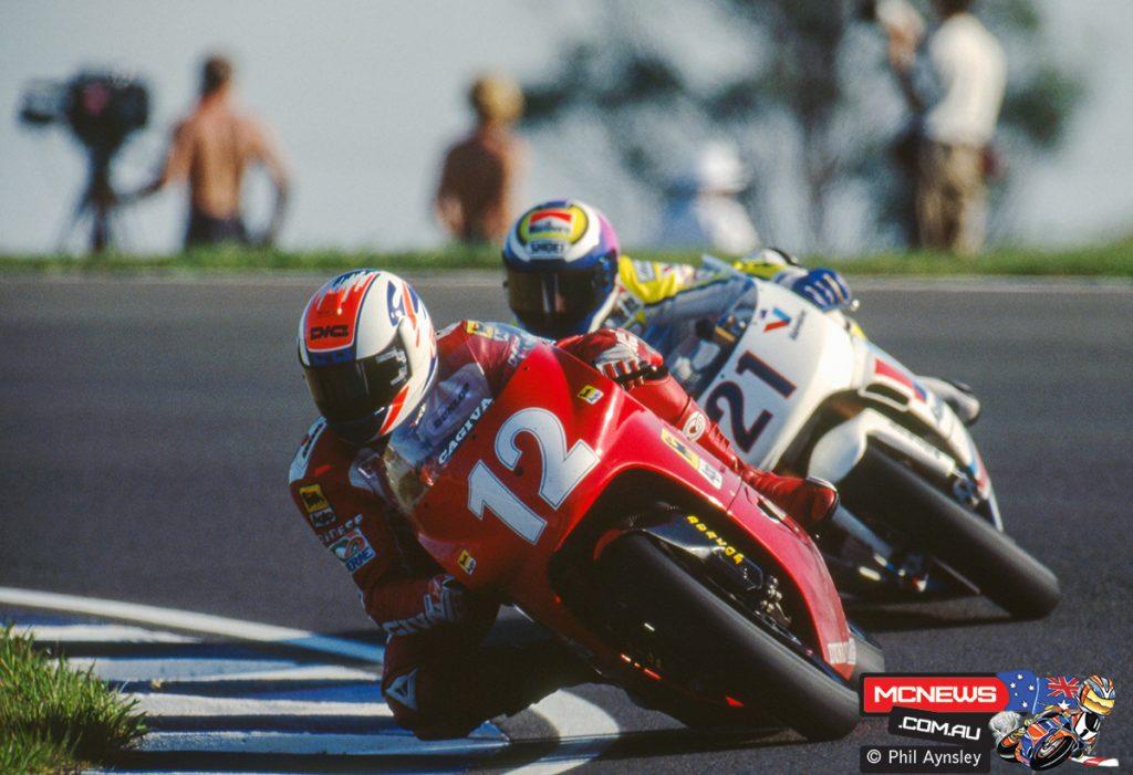 Alex Barros / Cagiva C592, Peter Goddard / ROC-Yamaha 500