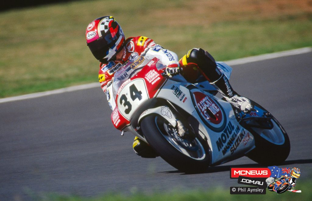 Kevin Schwantz - Suzuki RGV500
