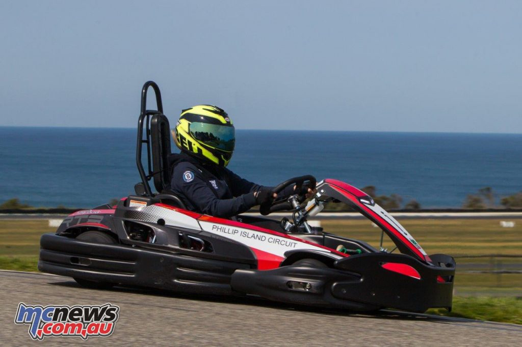 You can take the new Sodi Go Karts around the track with a chance to win free sessions if you're fast enough!