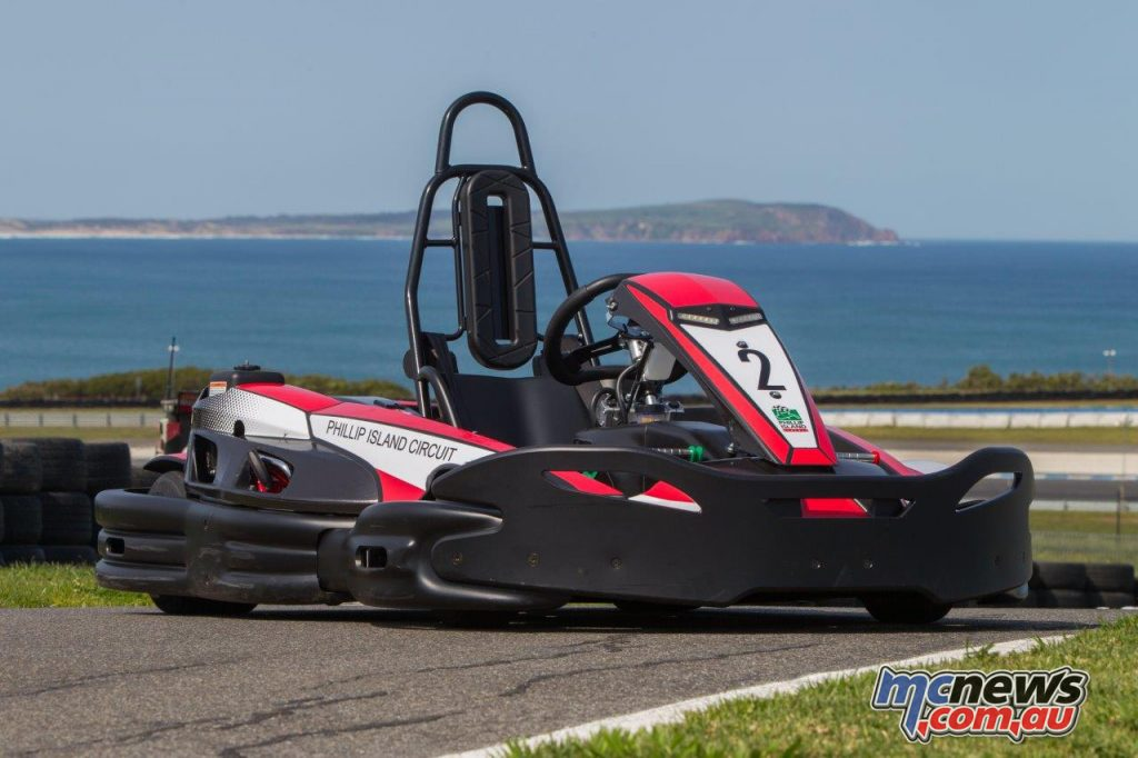 The Sodi RT8 Evo2 Kart produces 9hp and has a top speed of 65km/h ensuring plenty of thrills