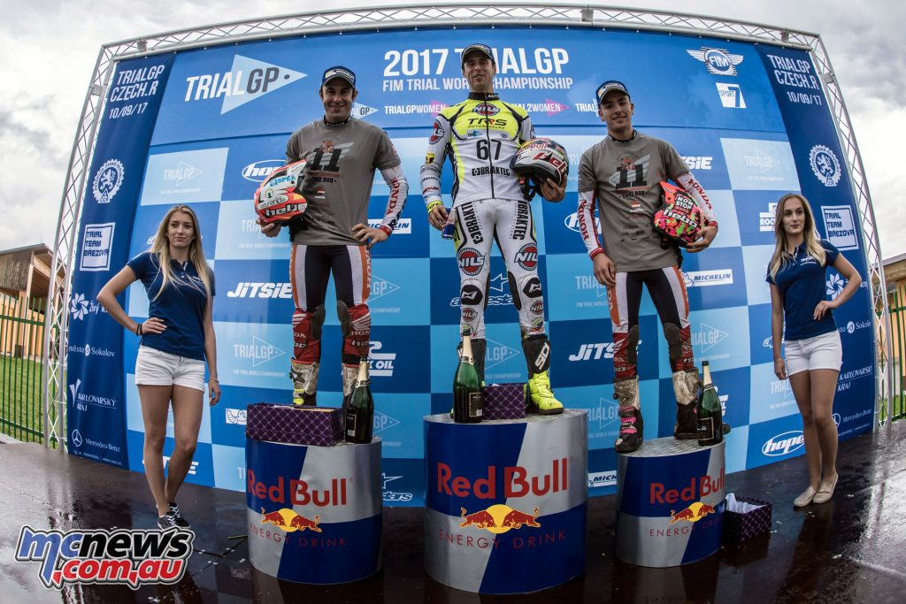Toni Bou took second to secure his championship title