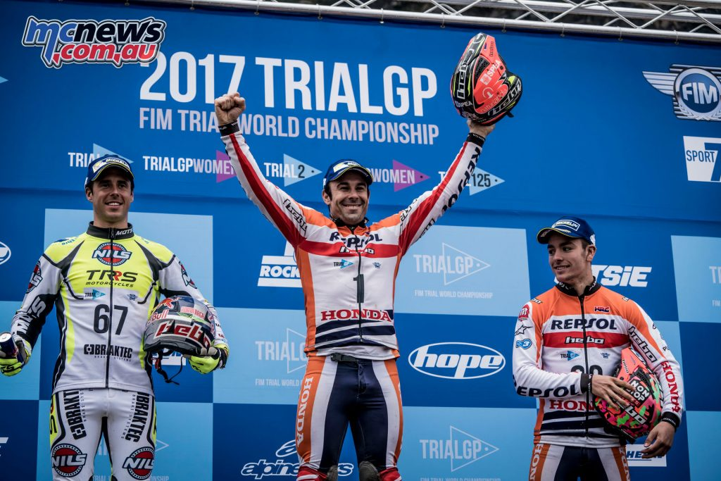 Toni Bou takes his 22nd title