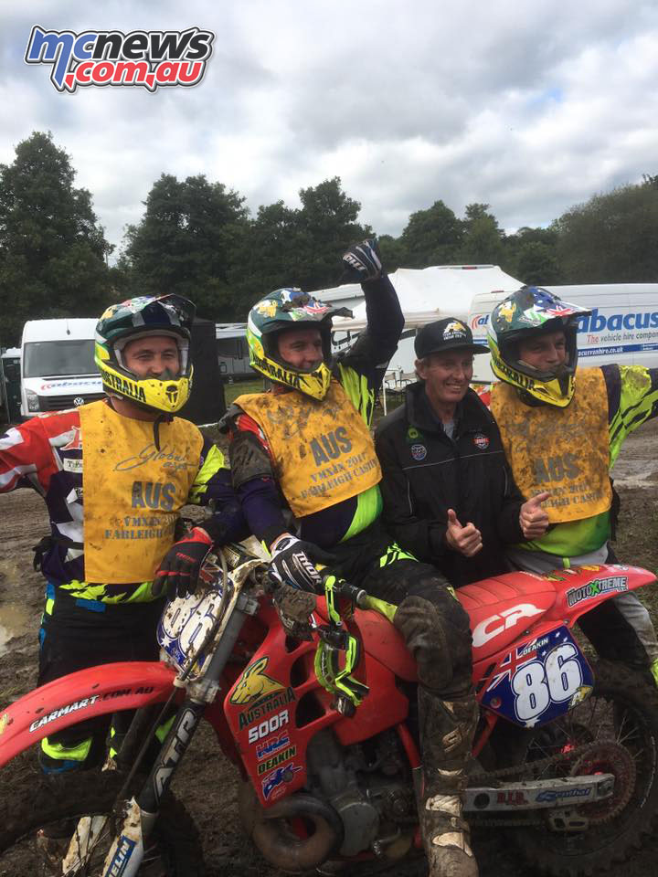 VMXdN 2017 - Caraig Anderson, James Deakin and Kirk Hutton