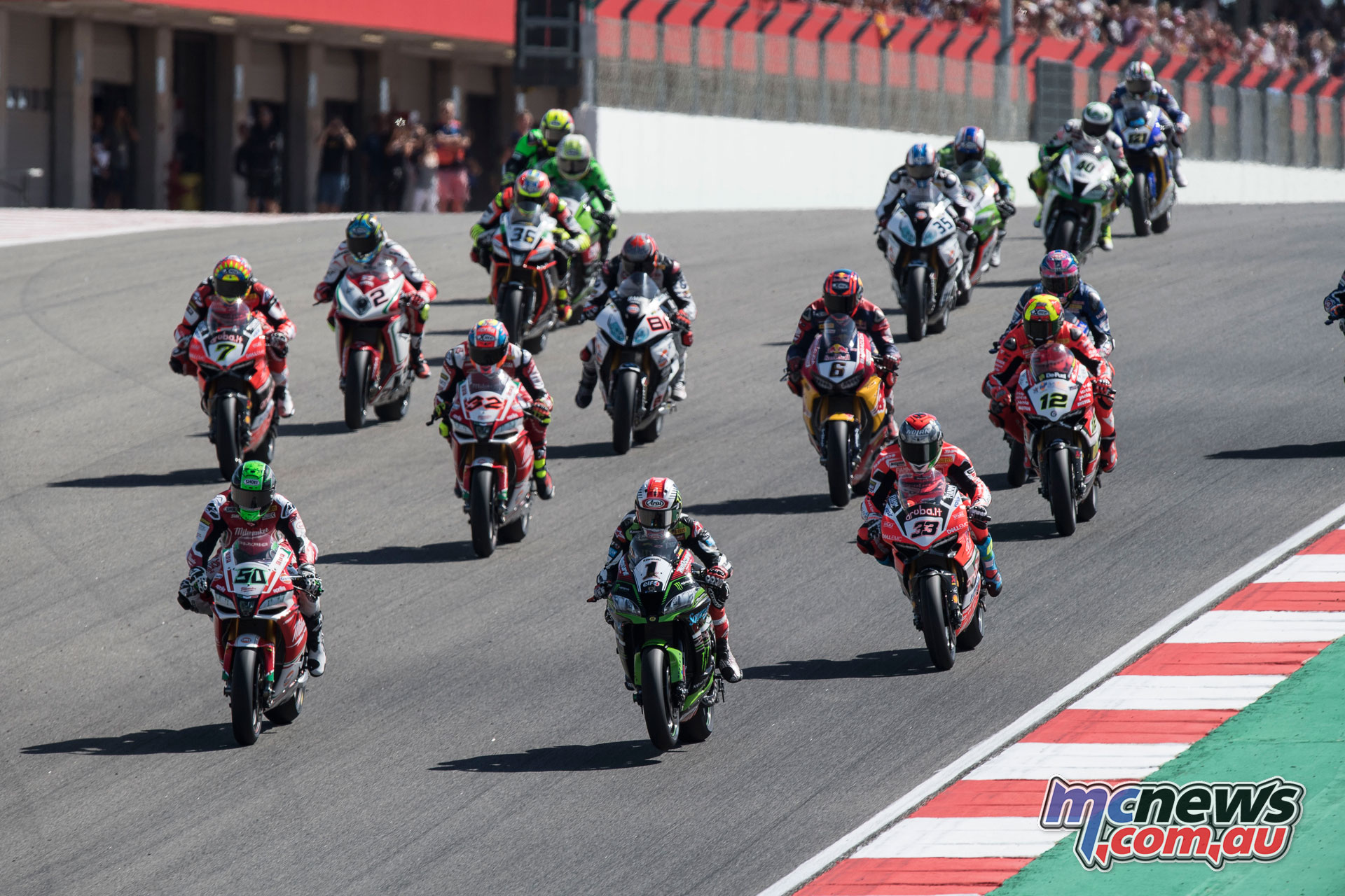 World Superbikes at Portimao