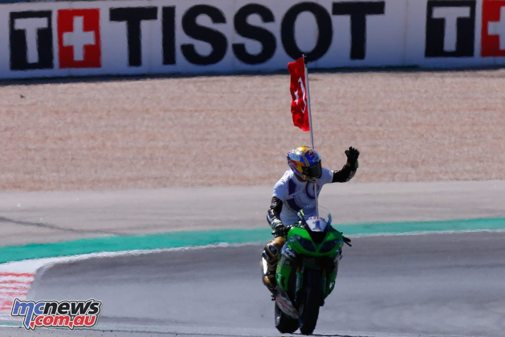 Kenan Sofuoglu took the Supersport win